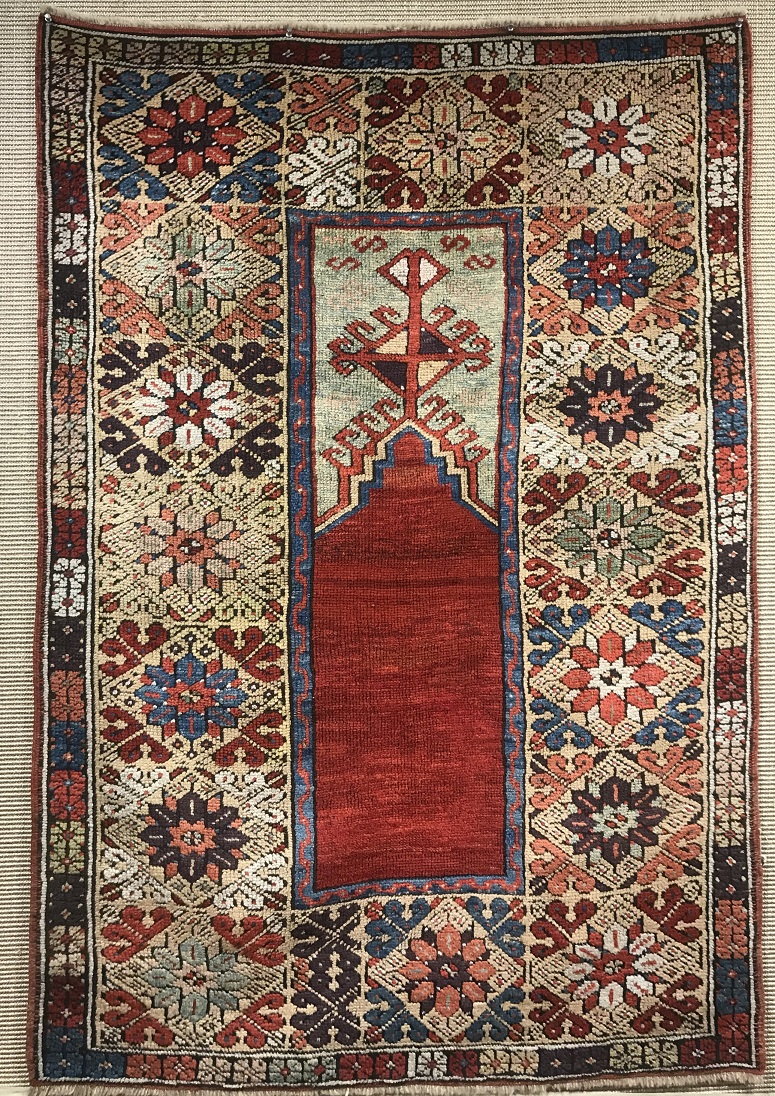 Antique mudjar Rug - # 54655