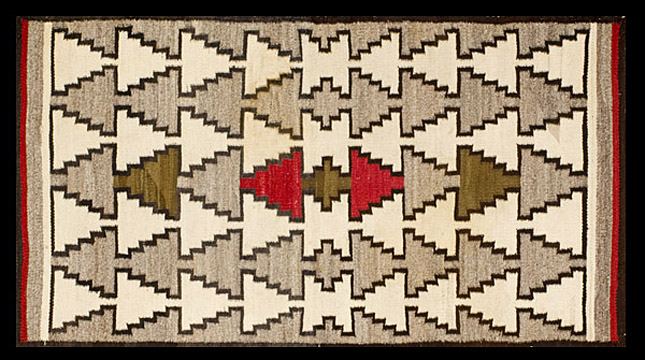 Antique navaho Rug - # 6095