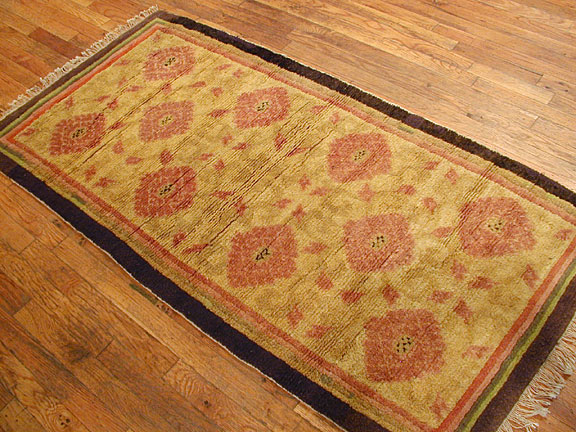 Antique ninghsia Rug - # 3342