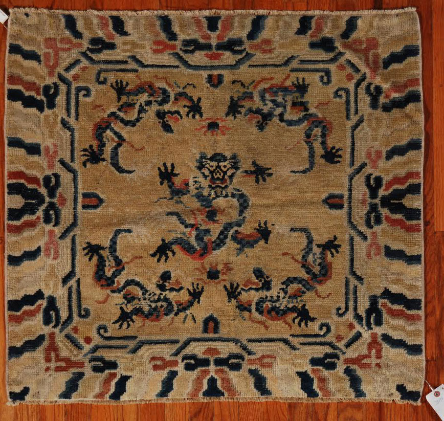 Antique ninghsia Rug - # 51153