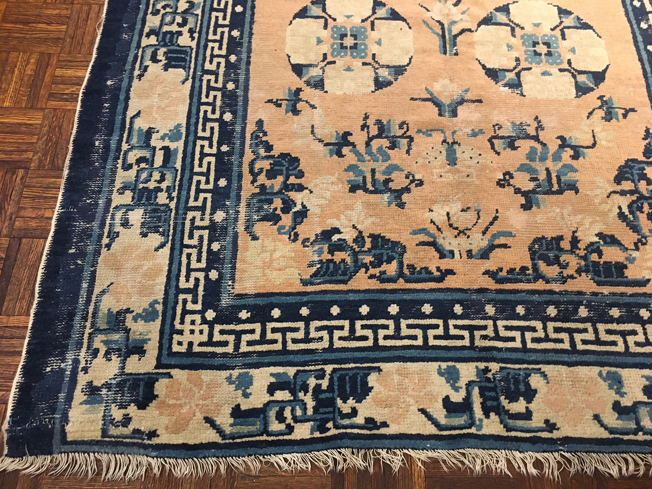 Antique ninghsia Rug - # 55796