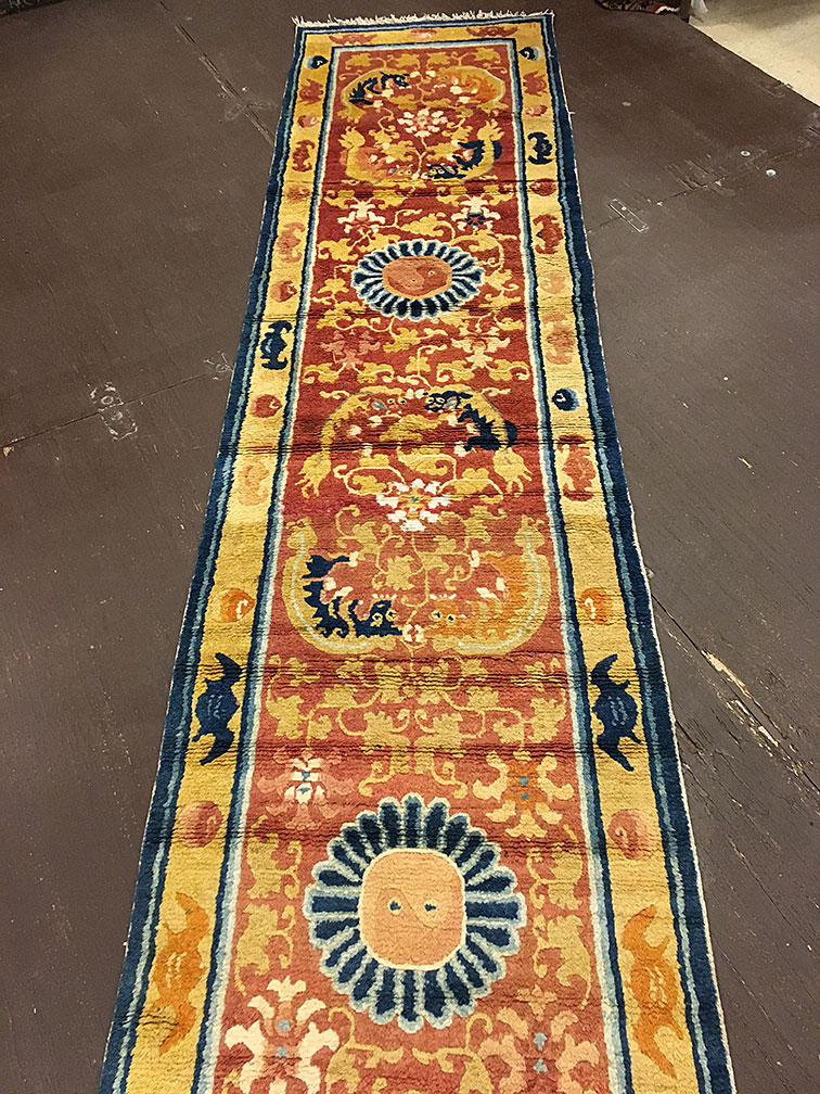 Antique ninghsia Runner - # 53309