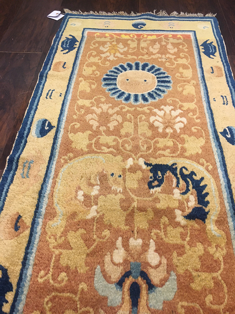Antique ninghsia Runner - # 55866