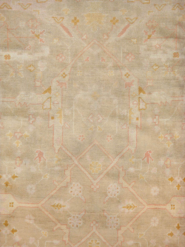 Antique oushak Carpet - # 40866