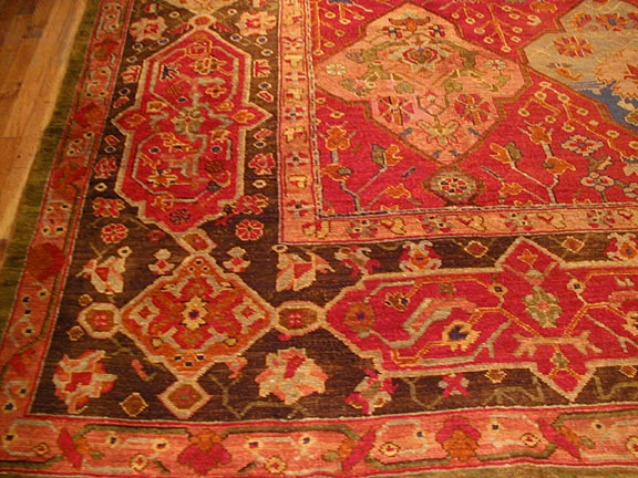 Antique oushak Carpet - # 4585