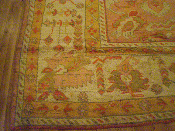 Antique oushak Carpet - # 5869