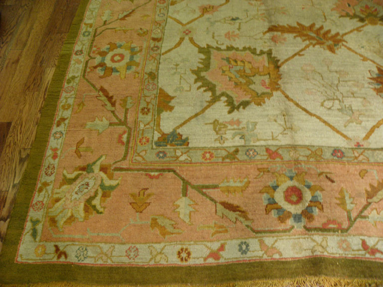 Antique oushak Carpet - # 6765