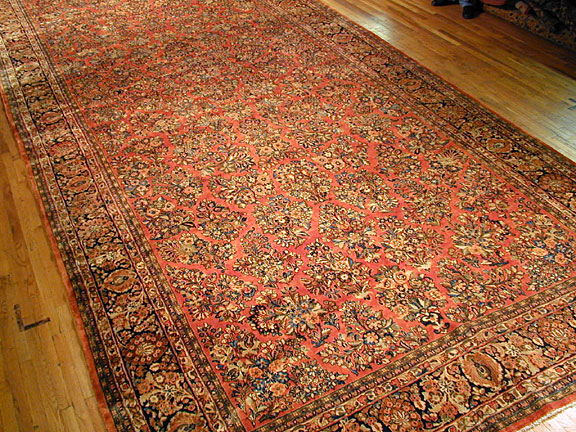 Antique sarouk Carpet - # 2450