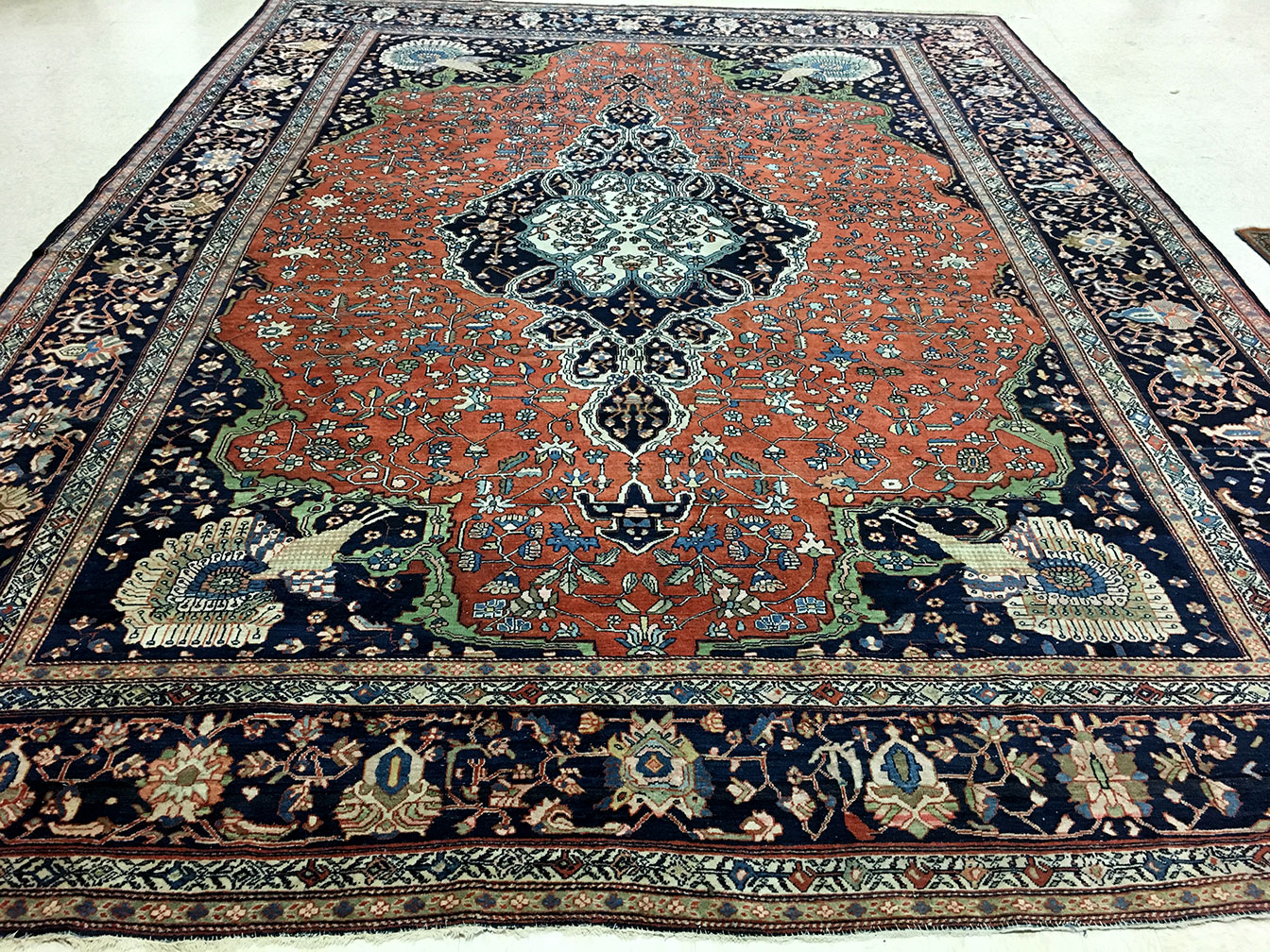 Antique sarouk, fereghan Carpet - # 51636