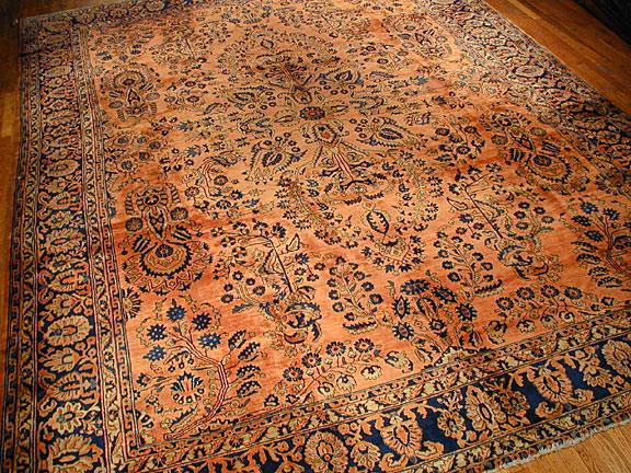 Antique sarouk, mohajeran Carpet - # 4083