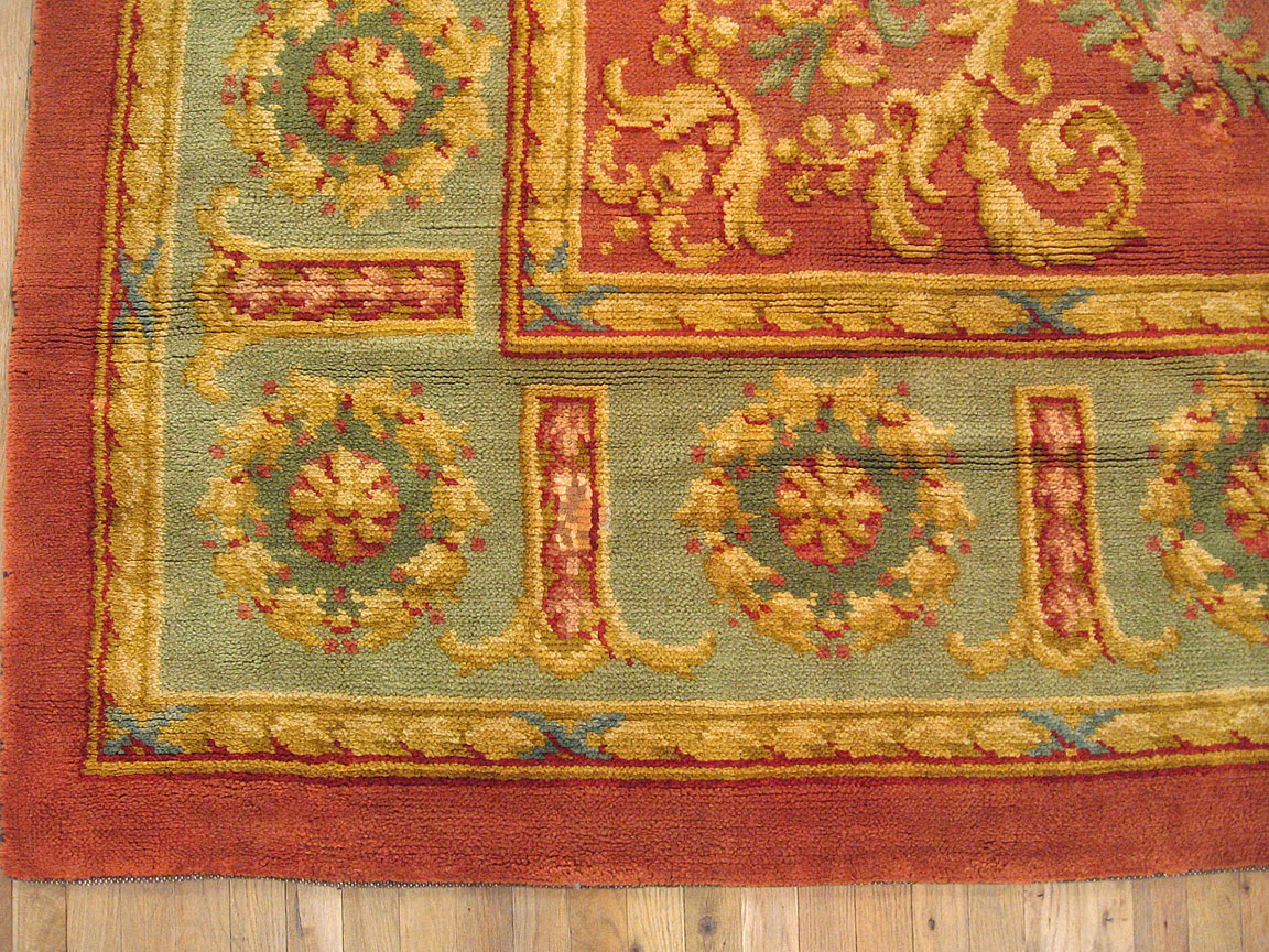 Antique savonnerie Carpet - # 3884