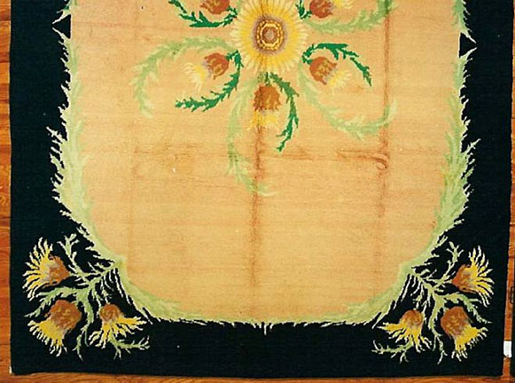 Antique savonnerie Carpet - # 4874