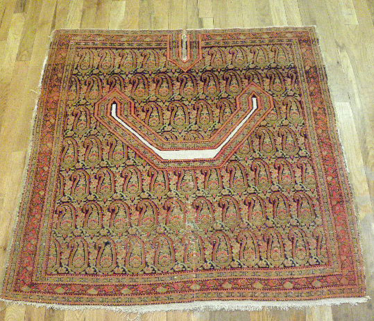 Antique senna Rug - # 6466