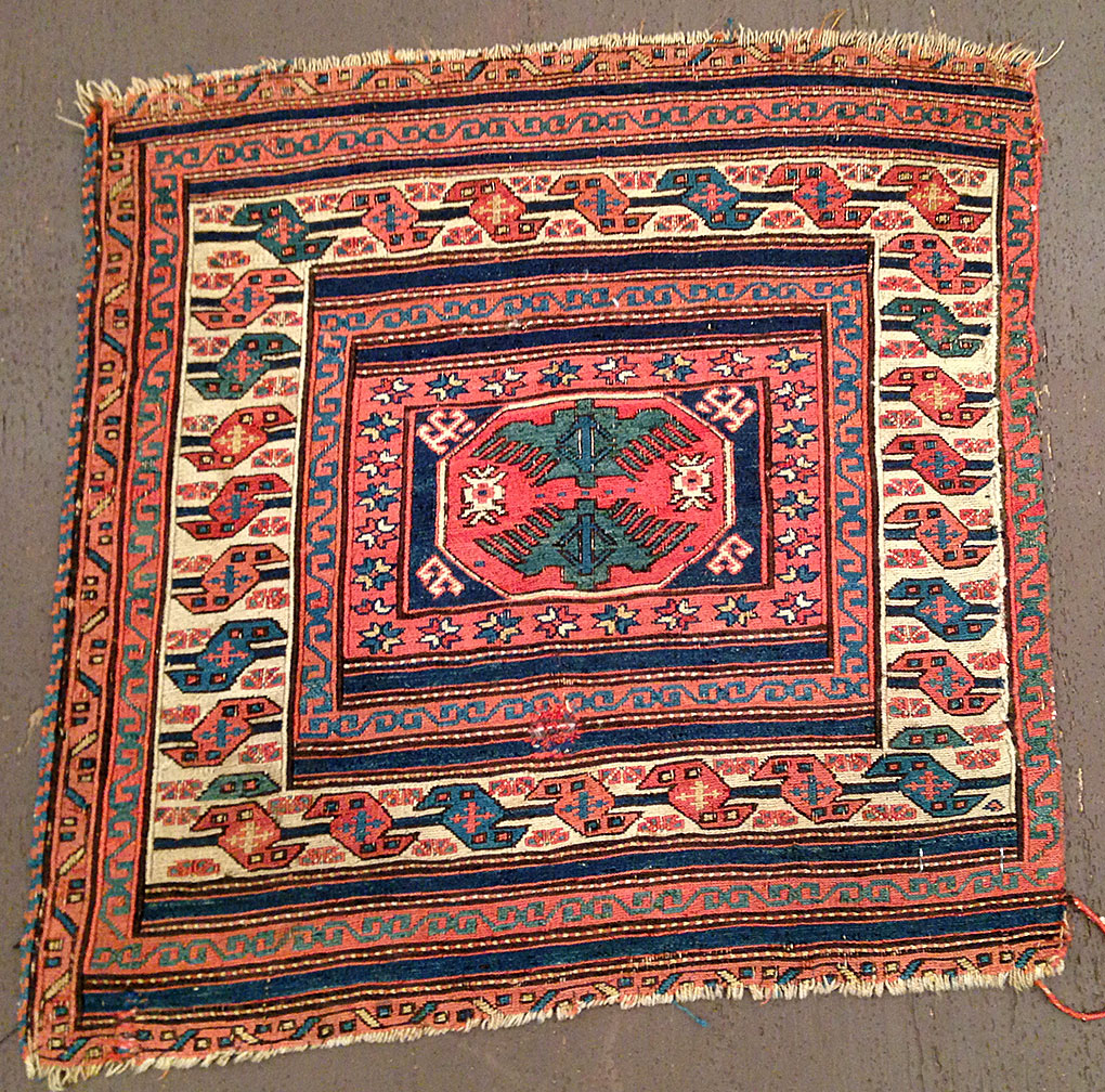 Antique shahsavan Rug - # 50617