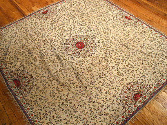 Antique shawl Rug - # 3224