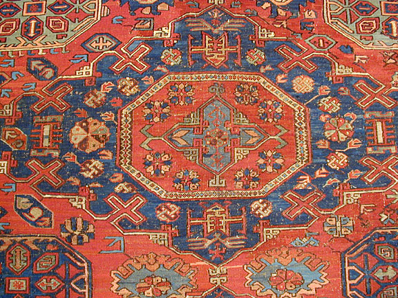 Antique soumac Carpet - # 3288