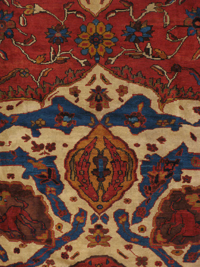 Antique sultan abad Carpet - # 10870