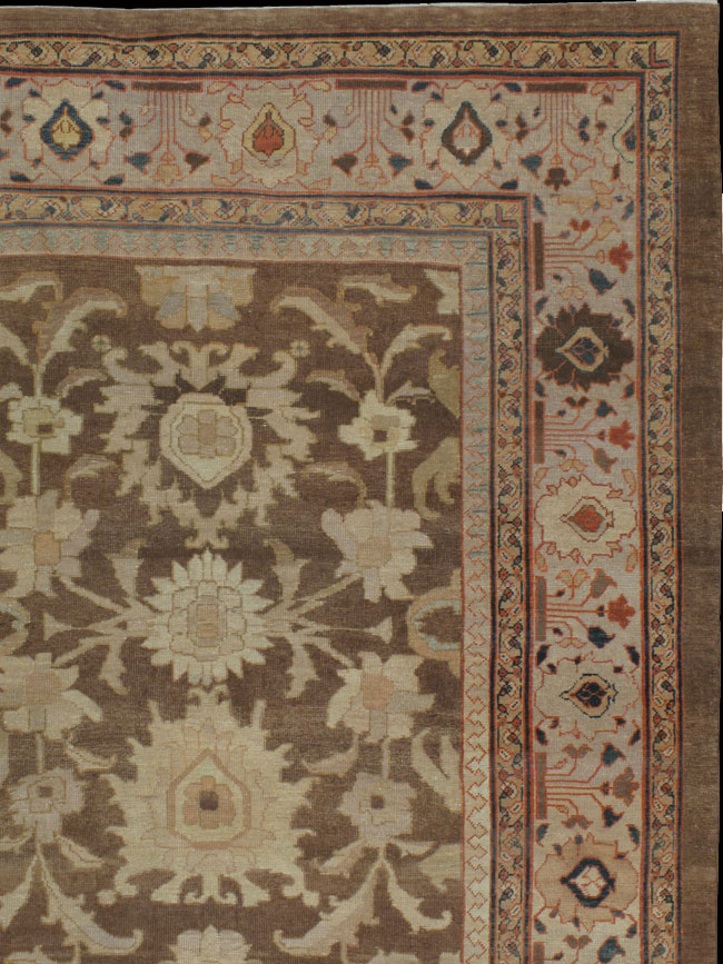 Antique sultan abad Carpet - # 11230