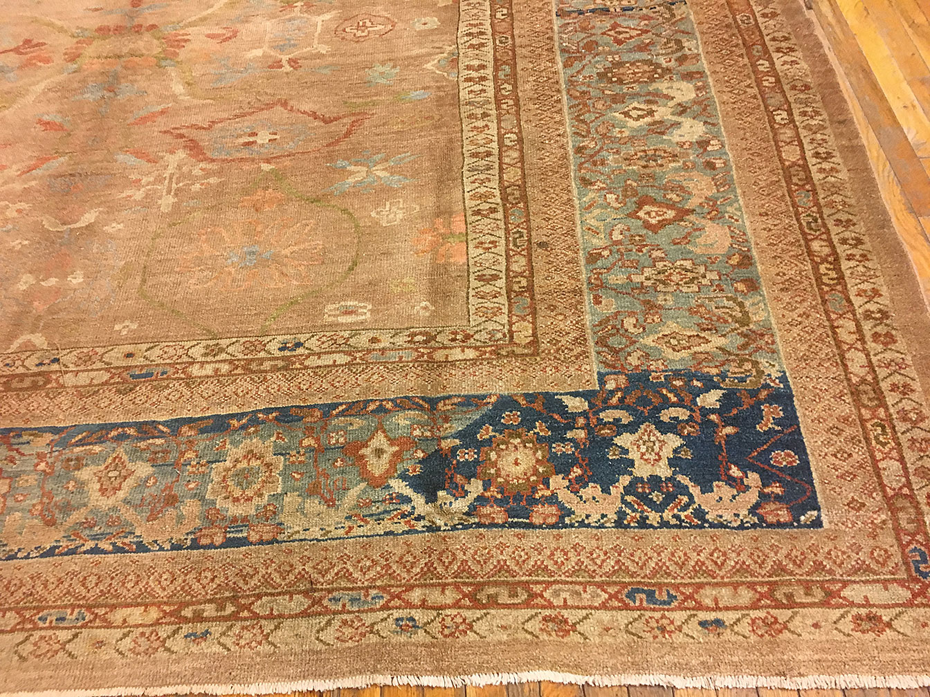 Antique sultan abad Carpet - # 52117