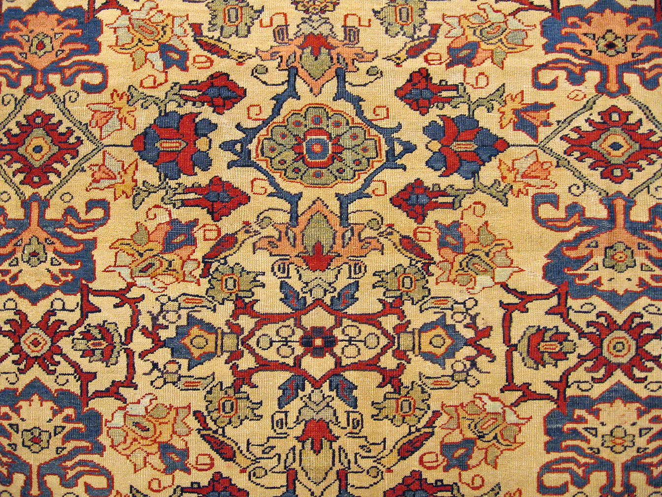 Antique sultan abad Carpet - # 52219