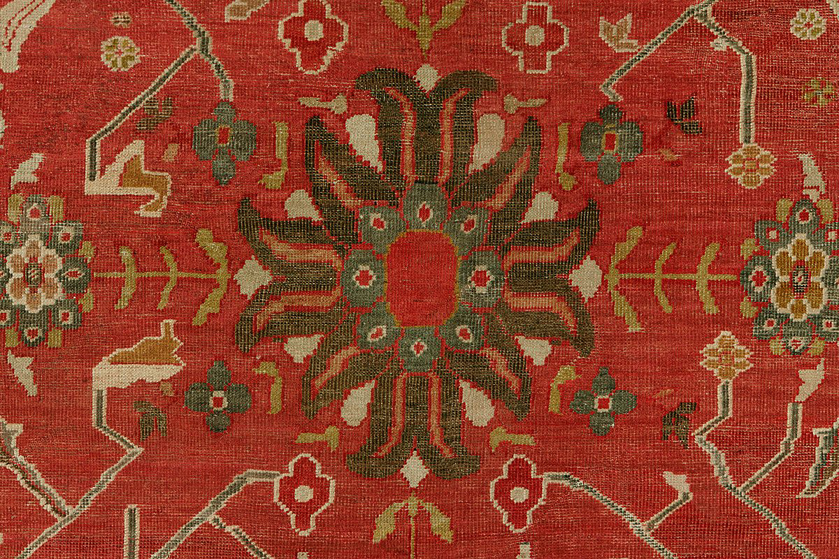 Antique sultan abad Carpet - # 53560