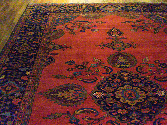 Antique sultan abad Carpet - # 5631