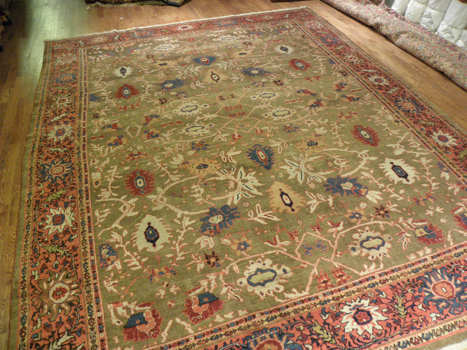 Antique sultan abad Carpet - # 6761