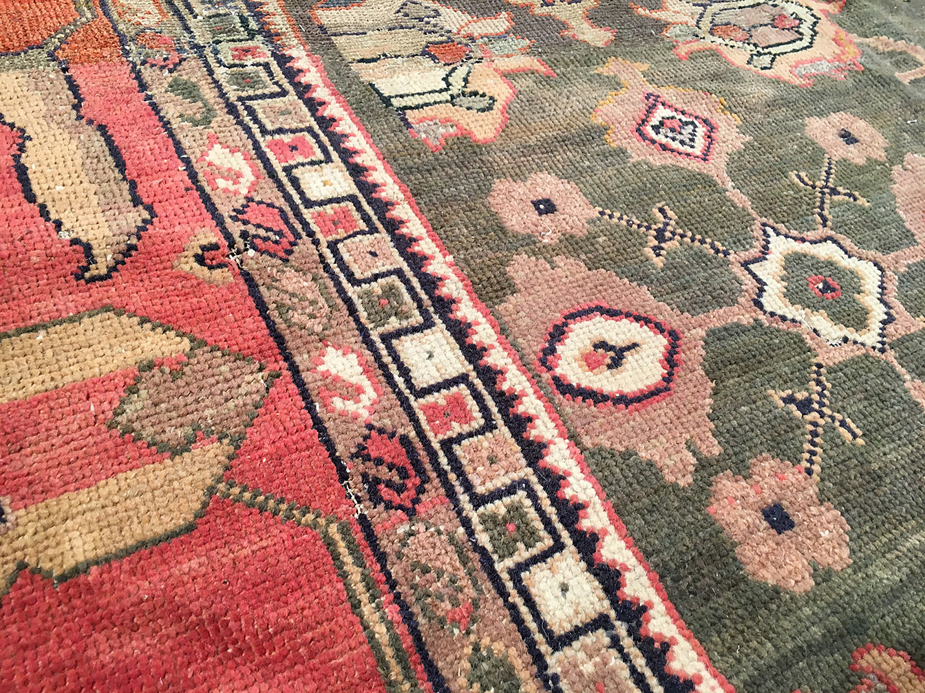 Antique sultan abad Carpet - # 93663