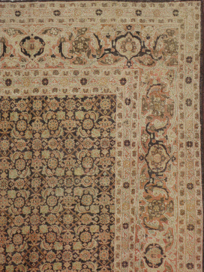 Antique tabriz Carpet - # 42091