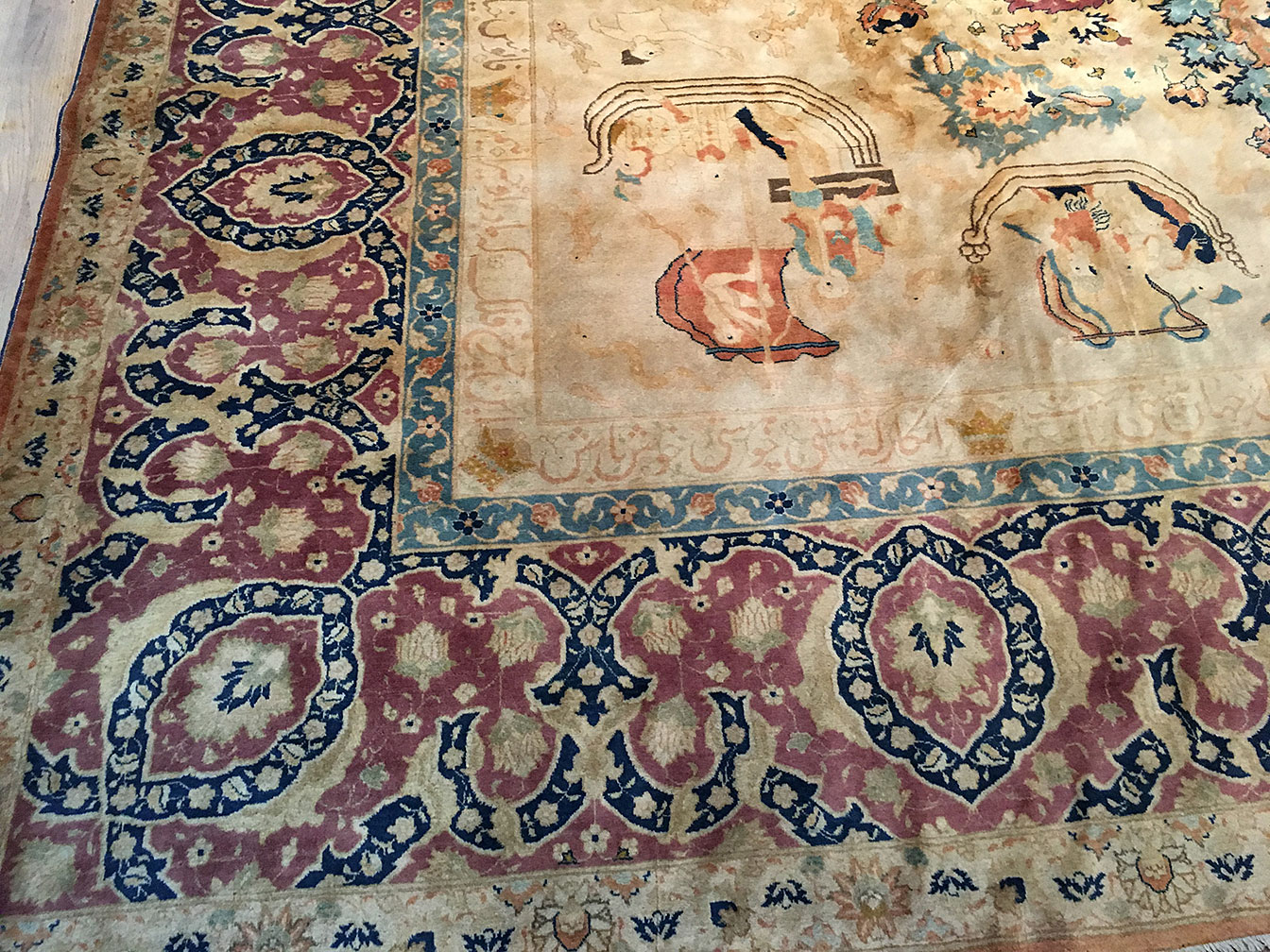 Antique tabriz Carpet - # 53070