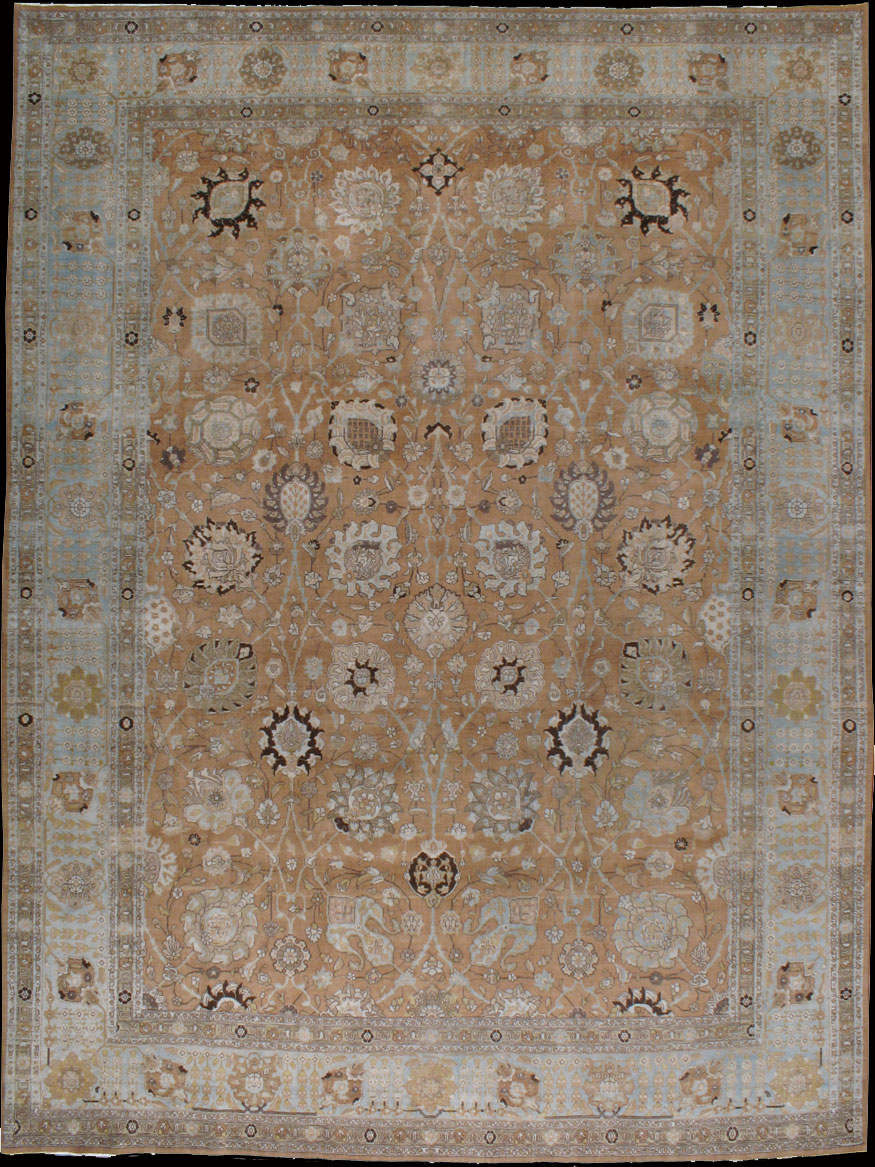 Antique tabriz Carpet - # 8535