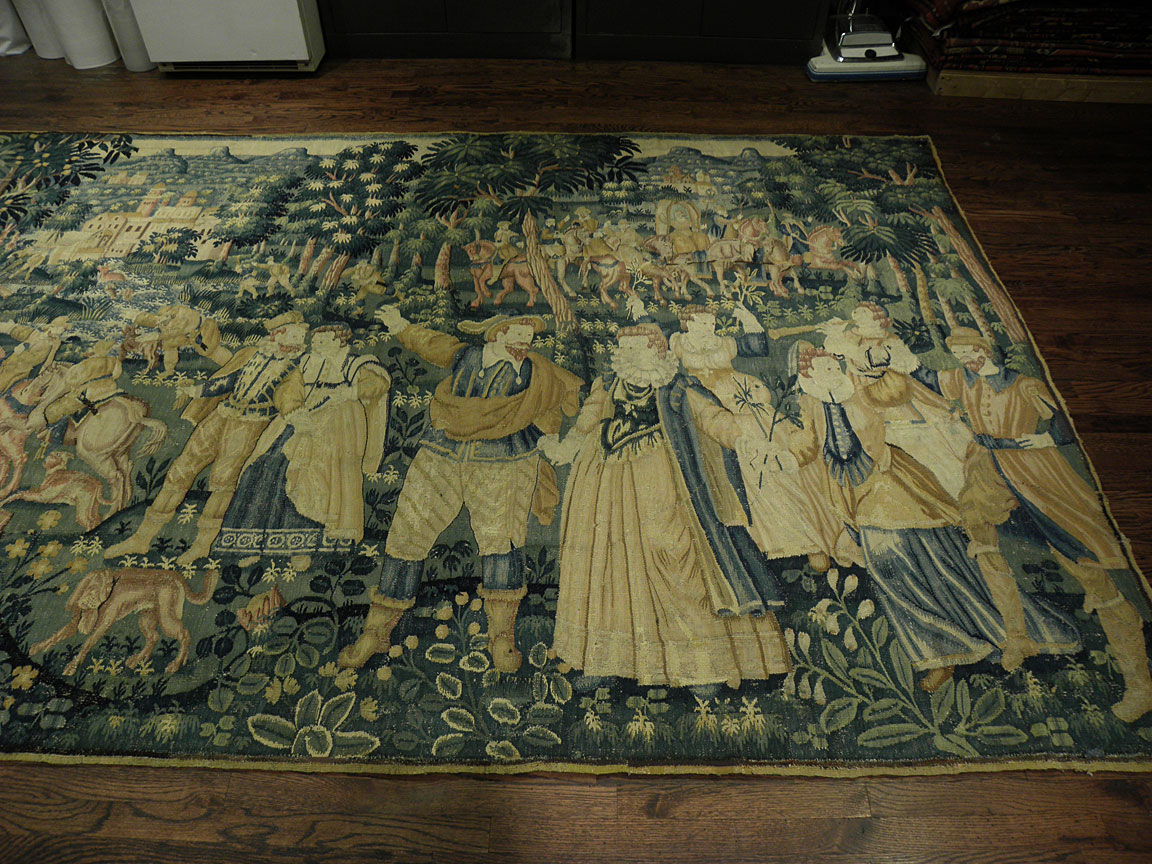 Antique tapestry - # 8213