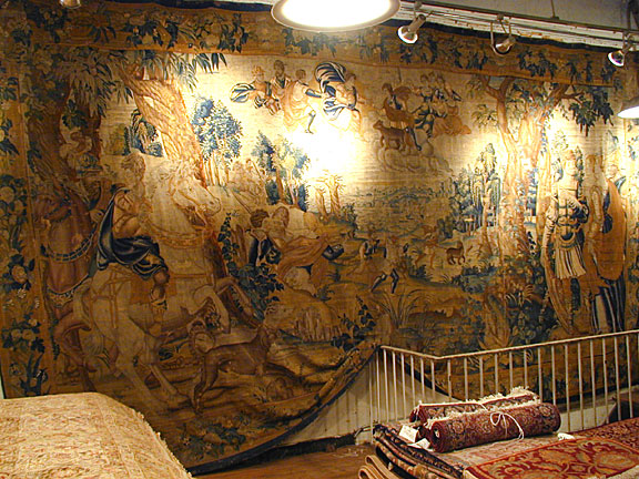 Antique tapestry Carpet - # 5293