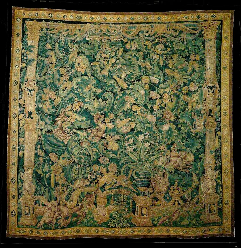 Antique tapestry Carpet - # 7520