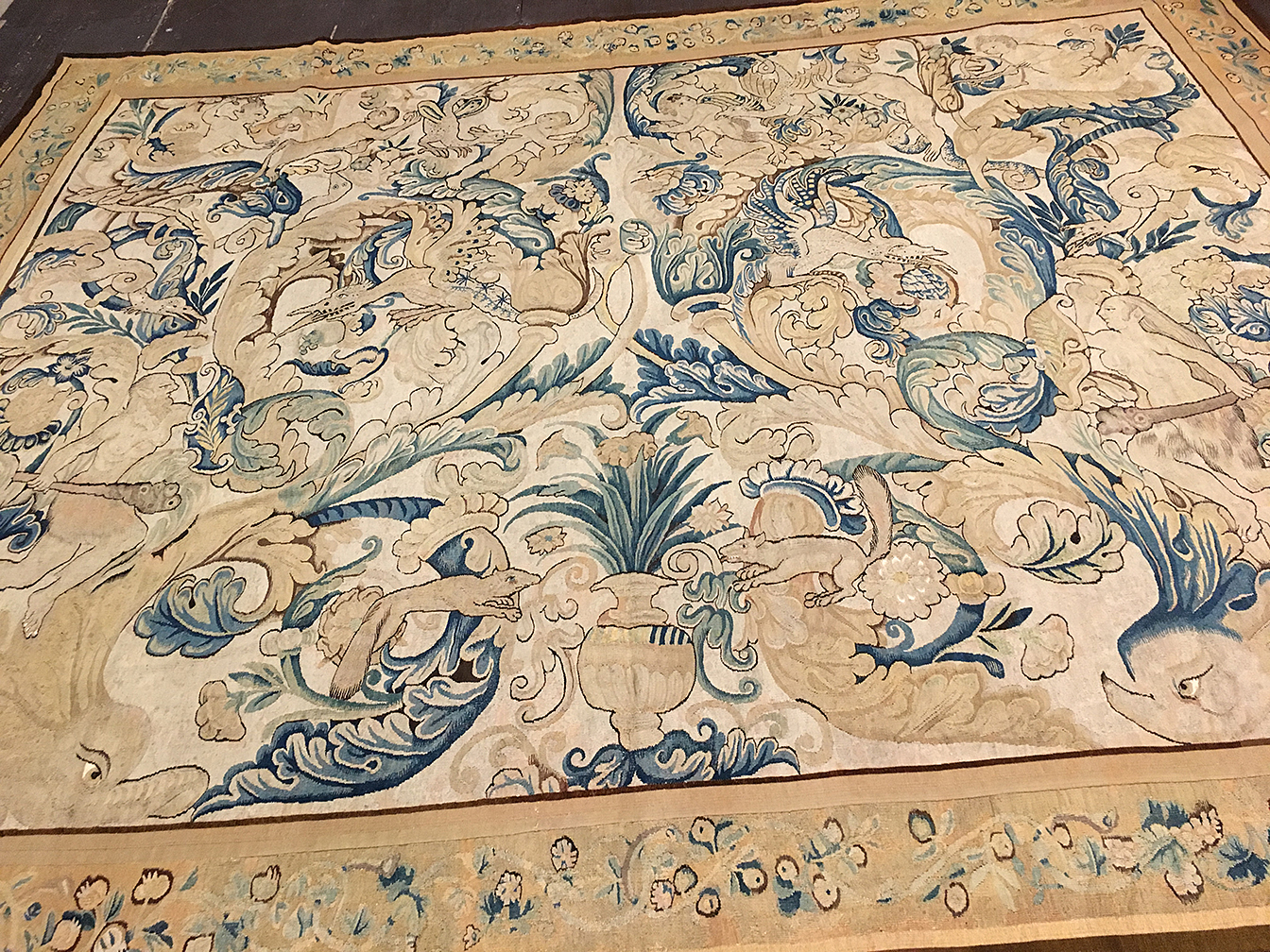 Antique tapestry Carpet - # 80094