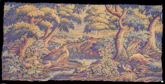 Antique tapestry Rug - # 607