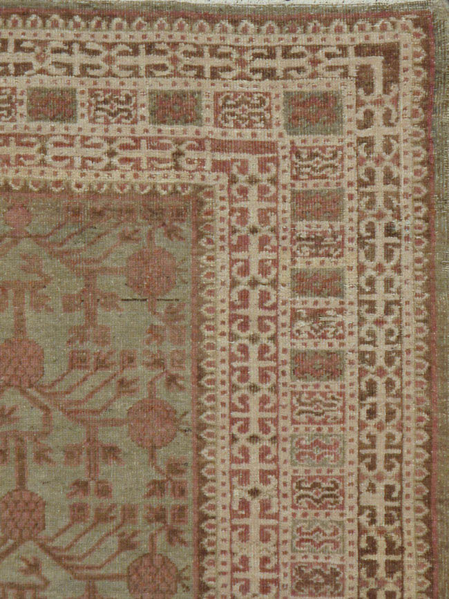 antique khotan Rug - # 40183