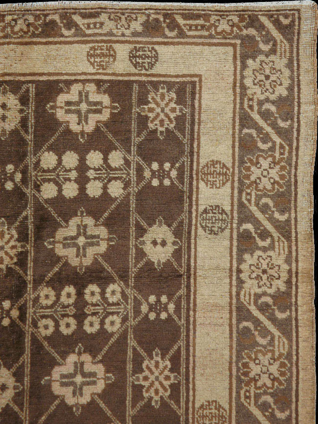 antique khotan Rug - # 41020