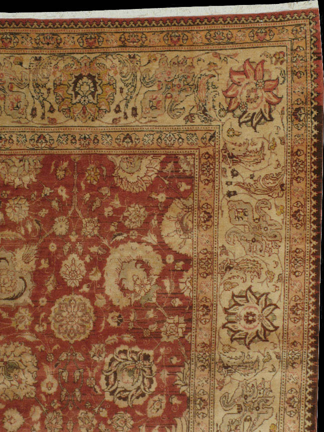antique tabriz Carpet - # 40213