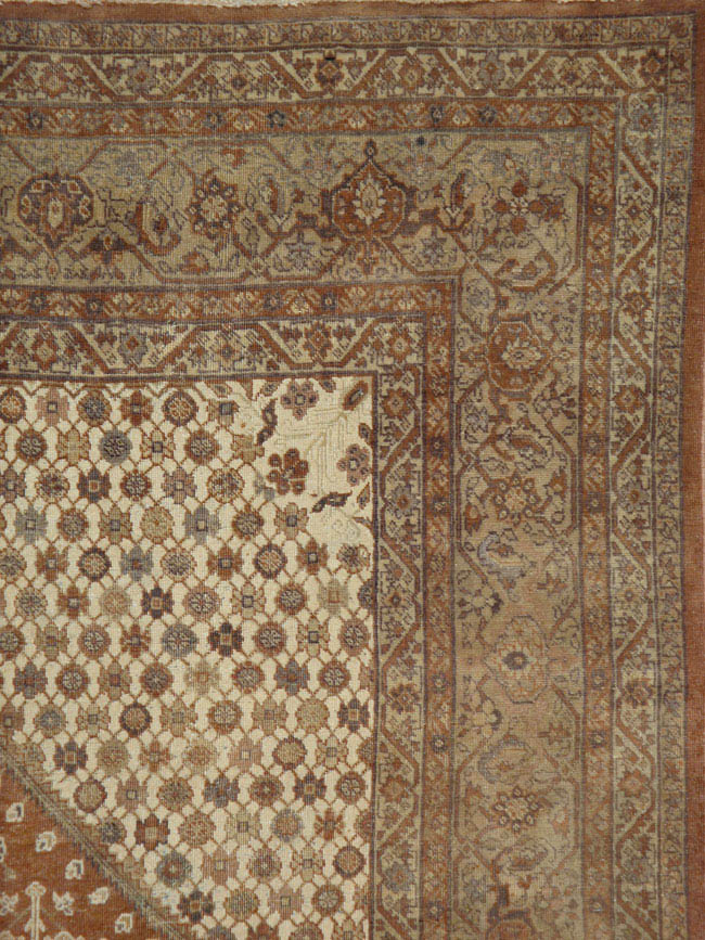 antique tabriz Carpet - # 42094