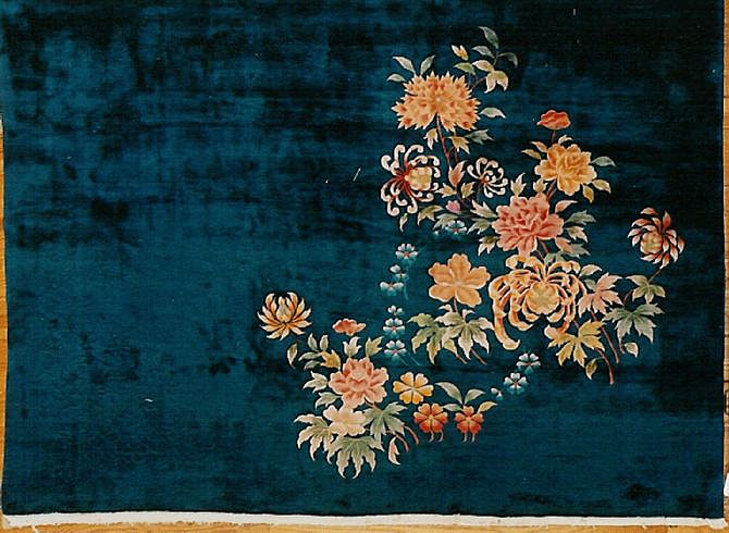 Vintage chinese Carpet - # 6182