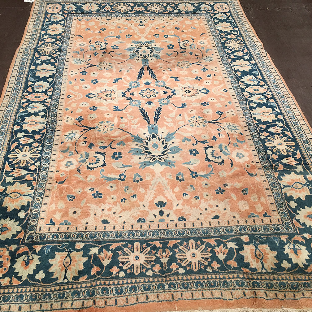 Arts And Crafts Rugs With Exciting Indian Agra Rug Design: Metropolitancarpet.com: Vintage