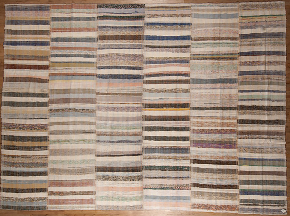 Vintage rag Carpet - # 55063
