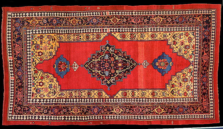 The Knot Count Was Not Of The Highest, And The Pile Was Relatively Long,  Making Bidjar Carpets To Be Heavier Than Average Persian Carpets.