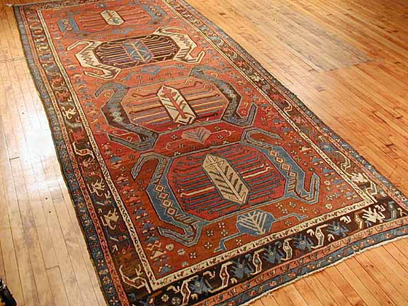 Therefore In Most Old Items You Will Find Streaks Of Colors Since The Rugs Are Made Row By This Phenomenon Is So Often That Many Reproduction