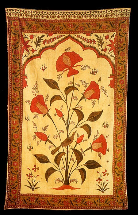 Originally Carpets Were Woven To Safavid Persian Court Designs But Soon The Mughal Designers Developed A Distinctive Style Of Their Own
